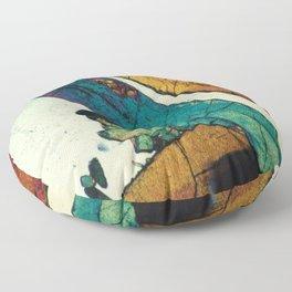 Epidote in Quartz Floor Pillow