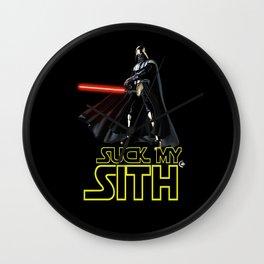 Suck My Sith Wall Clock