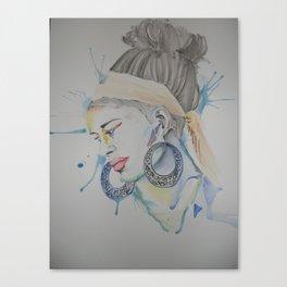 Love africa Canvas Print