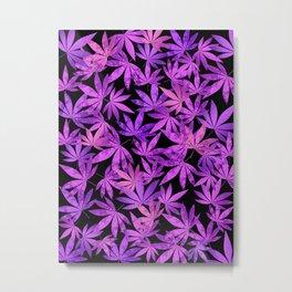 Purple Weed Metal Print