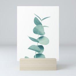 Eucalyptus Green Vibes #1 #foliage #decor #art #society6 Mini Art Print