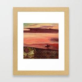Last Ride Framed Art Print
