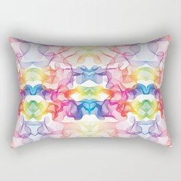 Rainbow's smoke Rectangular Pillow