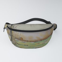 En plein air 7th april Fanny Pack