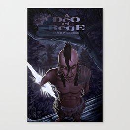 A Deo et Rege Poster 2 Canvas Print