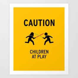 Children at Play Art Print