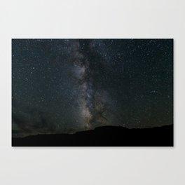 Death Valley Milky Way Canvas Print