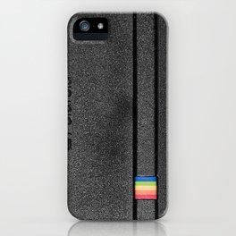 Polaroid Spirit 600 CL, black iPhone Case