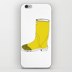 My favorite yellow boot iPhone Skin