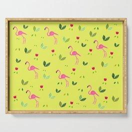 Flamingos and company Serving Tray