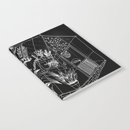 black greenhouse Notebook