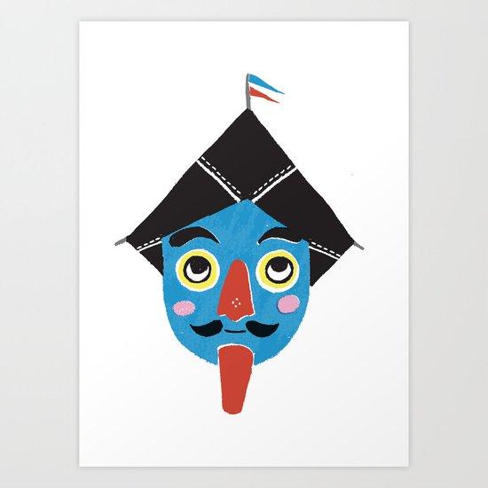 Drachen Art Print