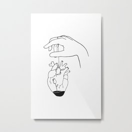 How can you mend a broken heart Metal Print