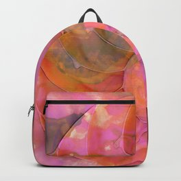 Colorful Nautilus Shell By Sharon Cummings Backpack