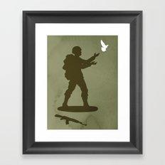 Conflict Framed Art Print