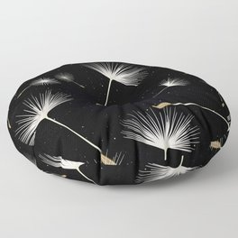 Celestial Dandelions Floor Pillow