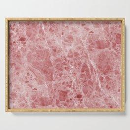 Juliette rosa deep pink marble Serving Tray
