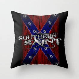 Southern Saint Throw Pillow