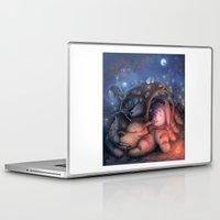 ghibli Laptop & iPad Skins featuring Ghibli Sleepover by KehChoonWee