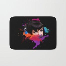 sexy stereo::famke Bath Mat