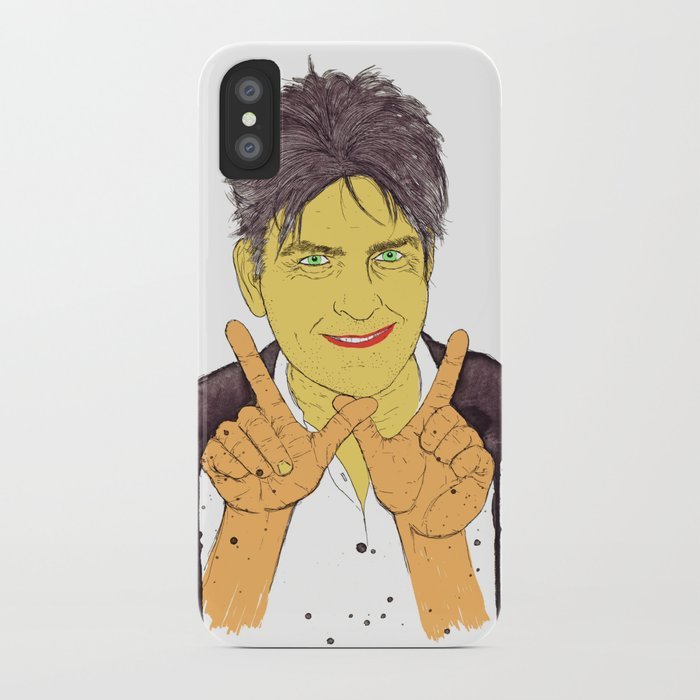W is for Winning iPhone Case