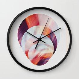 Sunset Circles New Zealand Wall Clock