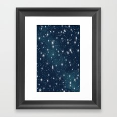 sky-183 Framed Art Print