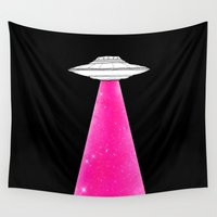 ufo Wall Tapestries featuring UFO by Beyond Infinite