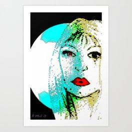 Quiet Emotion Art Print