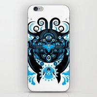 cthulu iPhone & iPod Skins featuring Lovecraftian Cosmic Horror by BlanzyDesign