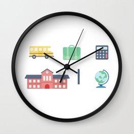 School Time Wall Clock