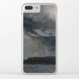Tom Thomson - Thunderstorm Clear iPhone Case