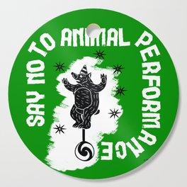 Say NO to Animal Performance – Bear Cutting Board