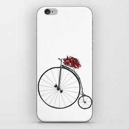 Christmas Bicycle iPhone Skin