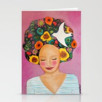 florence Stationery Cards featuring florence by sylvie demers