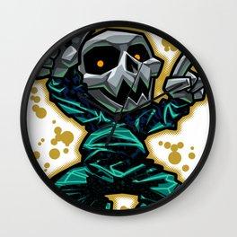 Skull Dancer Wall Clock