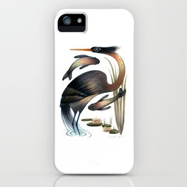 The Heron iPhone Case