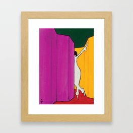 Gruau Primary Colours Framed Art Print