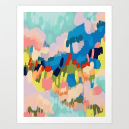 Abstract Painting 191002 Art Print