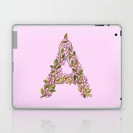 Leafy Letter A Laptop & iPad Skin