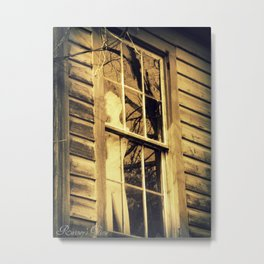 Window Dressing Metal Print