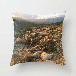 Borrego Desert Sunset Throw Pillow