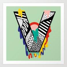 V for …. Art Print