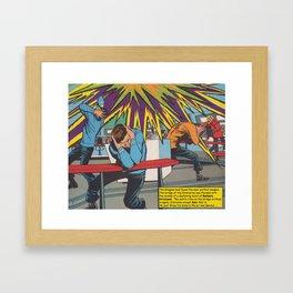 Dancing Among the Stars Framed Art Print