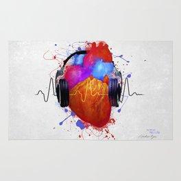 No Music - No Life Rug
