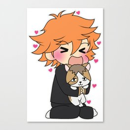 Kitty Kenma Canvas Print