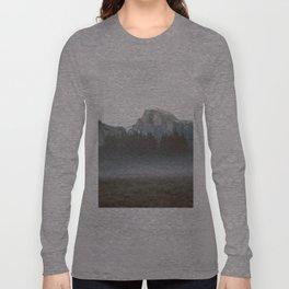 Morning Mist, Yosemite Long Sleeve T-shirt