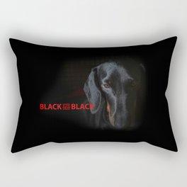 blk is a new blk Rectangular Pillow
