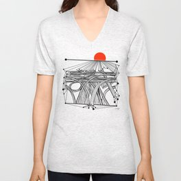 the Roads Unisex V-Neck