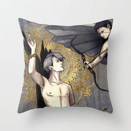 Eros Throw Pillow